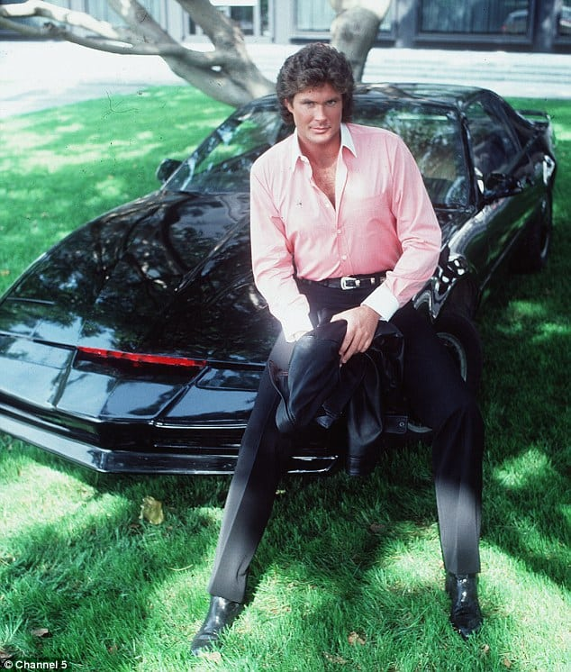 001D221800000258 2855833 Iconic David Hasselhoff starred as Michael Knight in Knight Ride 19 1417436209394